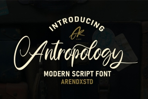 Anthropology Font