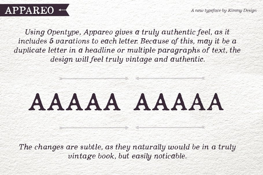 Appareo Complete Font Family