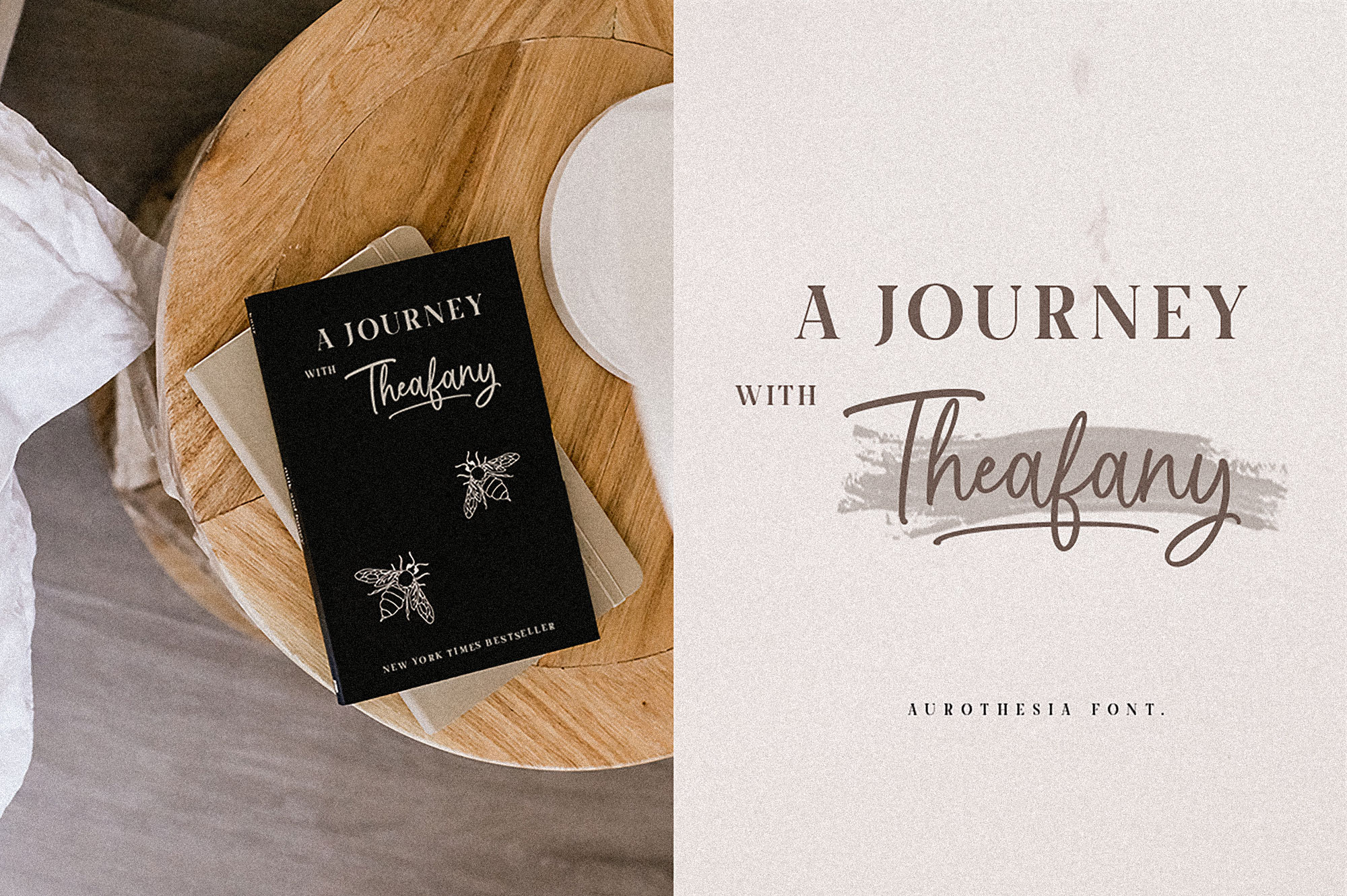 Aurothesia Casual Chic Font Duo