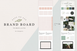 Brand Board Presentation Template