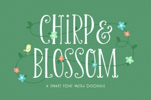 Chirp & Blossom Font