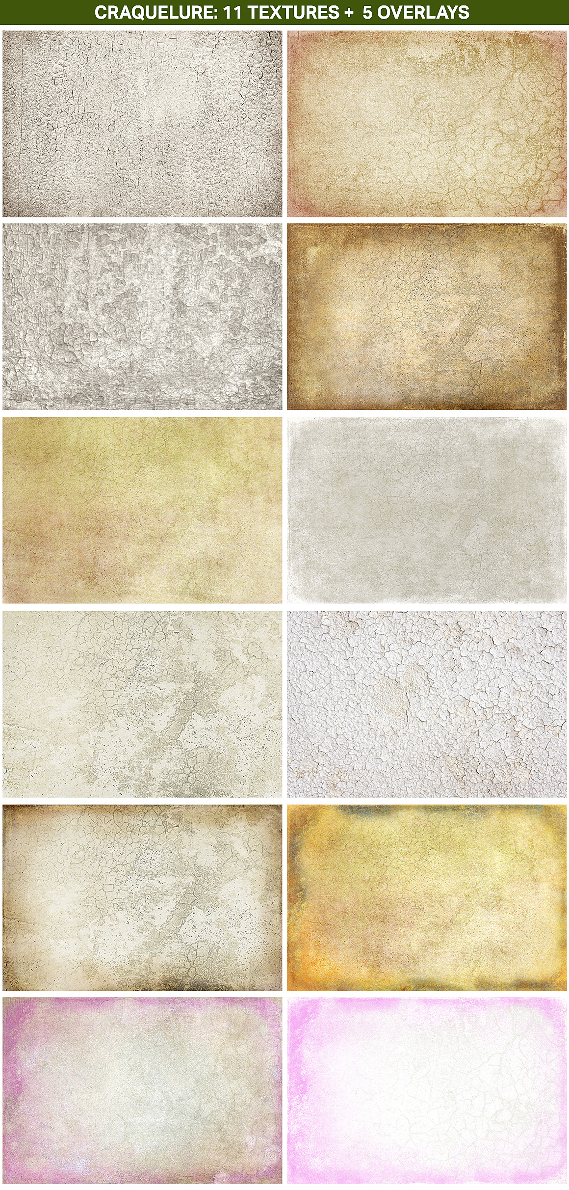 Craquelure Texture Collection