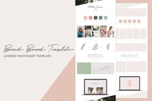 Creative Brand Board Template