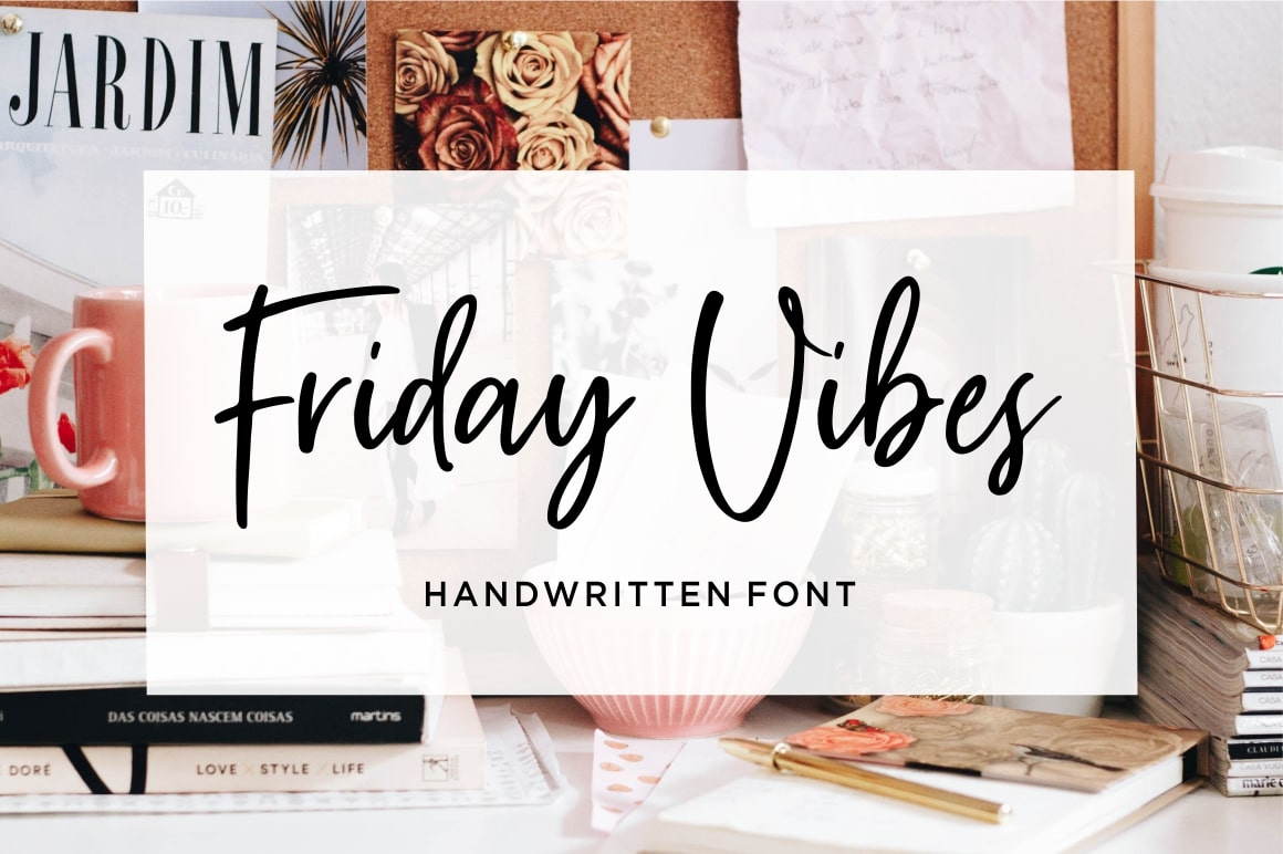Friday Vibes - Handwritten Font