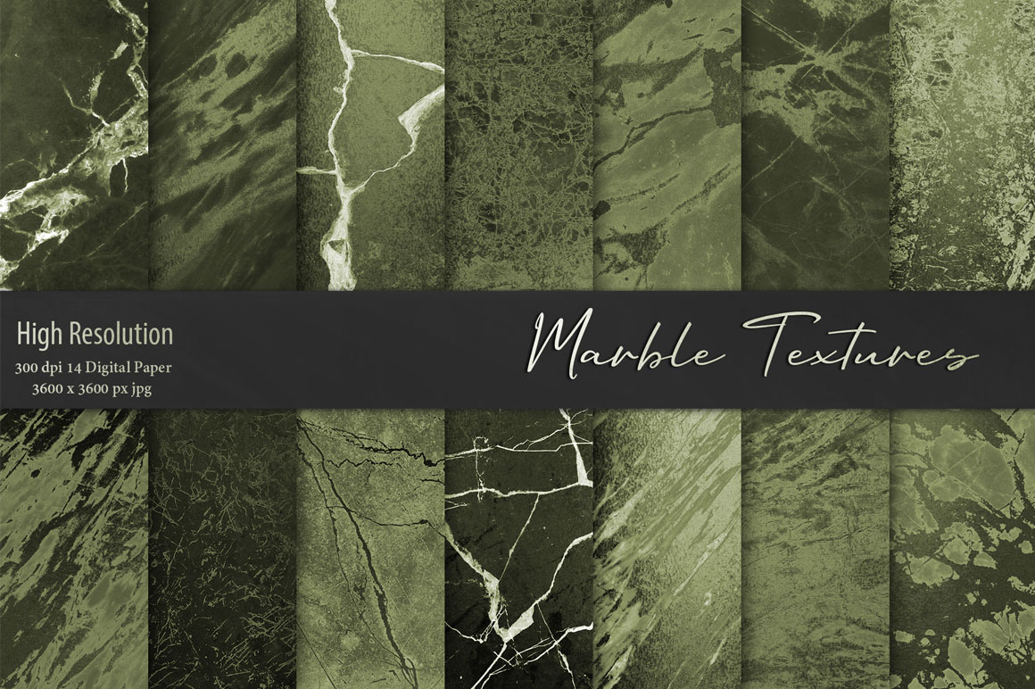 Green Marble Textures