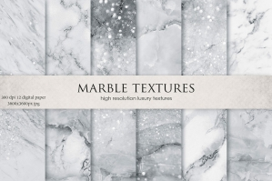 Grey Marble Textures