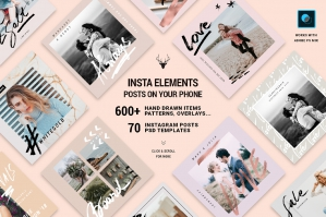 InstaElements - Instagram Posts Kit