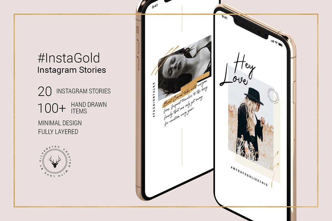 InstaGold Animated Instagram Stories