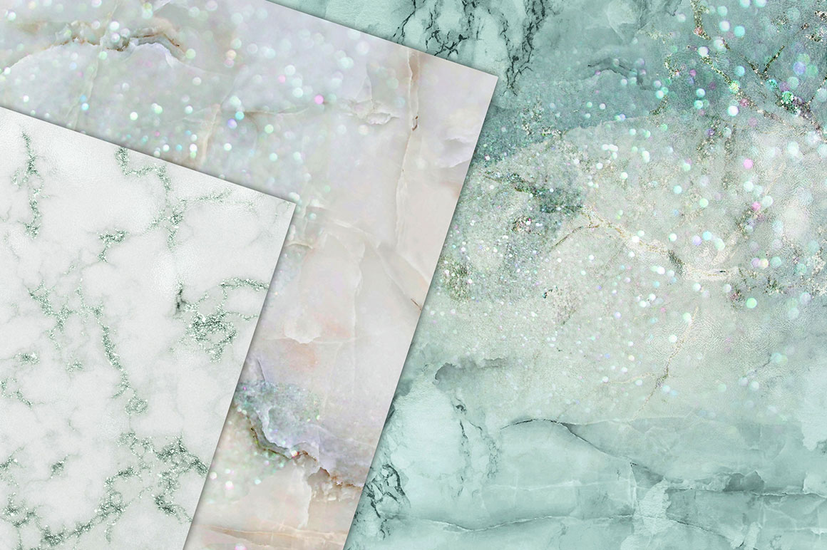 Light Blue Marble Textures