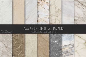 Marble & Stone Abstract Backgrounds