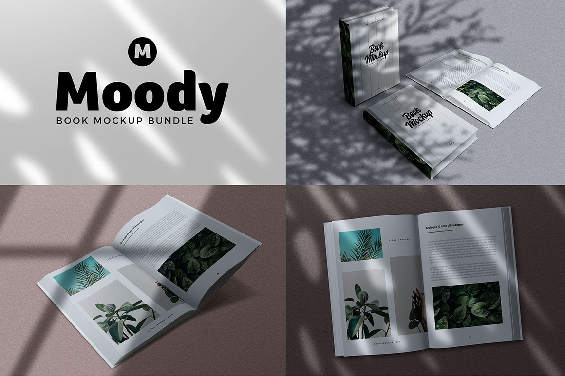 Moody Shadow Mockups