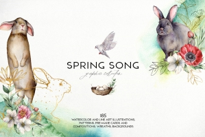 Spring Song Graphic Collection