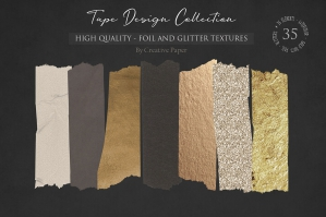 Tape Design - Foil and Glitter Collection
