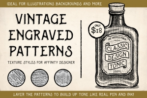 Vintage Engraved Patterns - Affinity