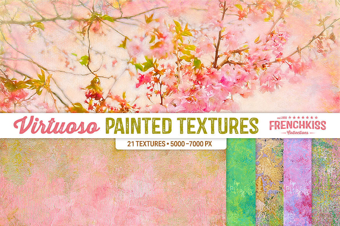 Virtuoso Painted Texture Collection