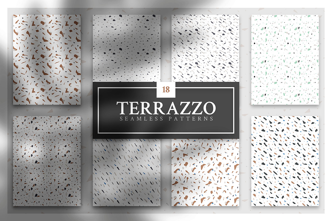 Wow Terrazzo - Pattern Collection