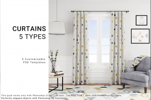 5 Types of Curtains, Rug & Blanket Vol.3