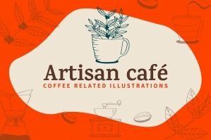 Artisan Coffee Illustrations