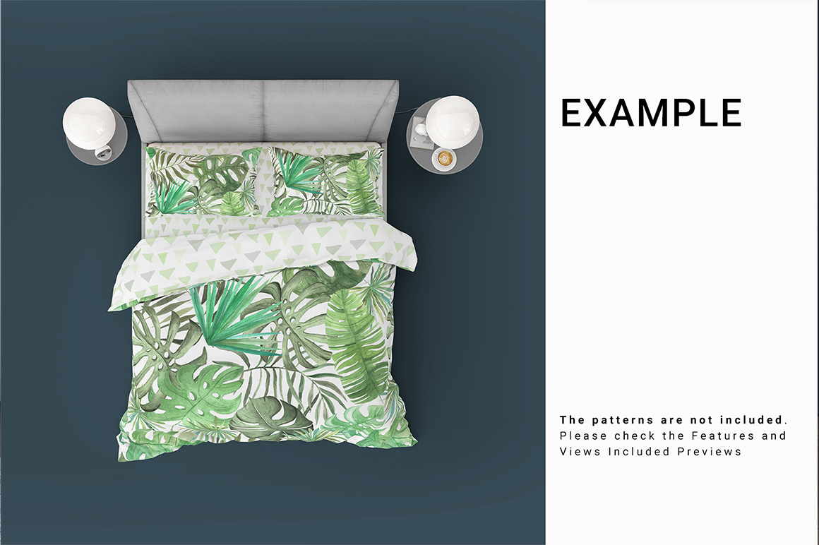 Bed Linens Mockup Set No.4