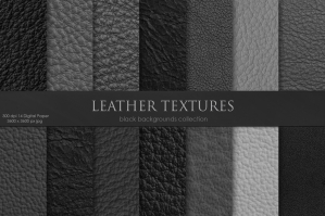 Black Leather Textures 2