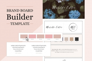 Brand Board Builder Template