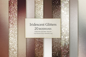 Brown Glitter and Foil Textures