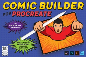 Comic Builder for Procreate and Affinity