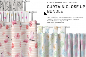 Curtains Close-Up Bundle