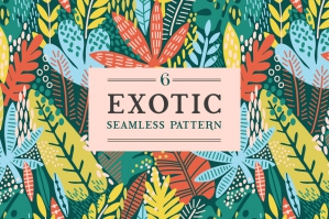 Exotic Leaves Pattern 2
