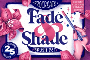 Fade & Shade Brush Set & Tutorials