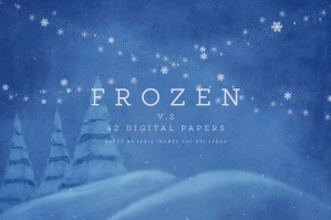 Frozen 2 Digital Papers