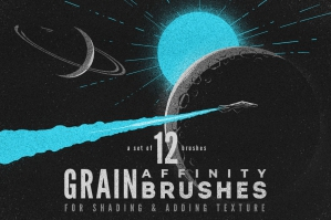 Grain Volume I Affinity Brushes