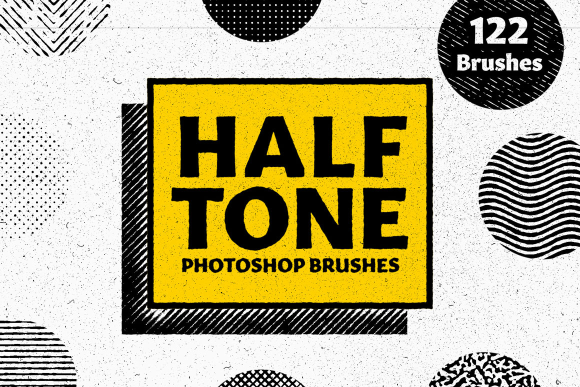 Half Tone – Photoshop Brushes