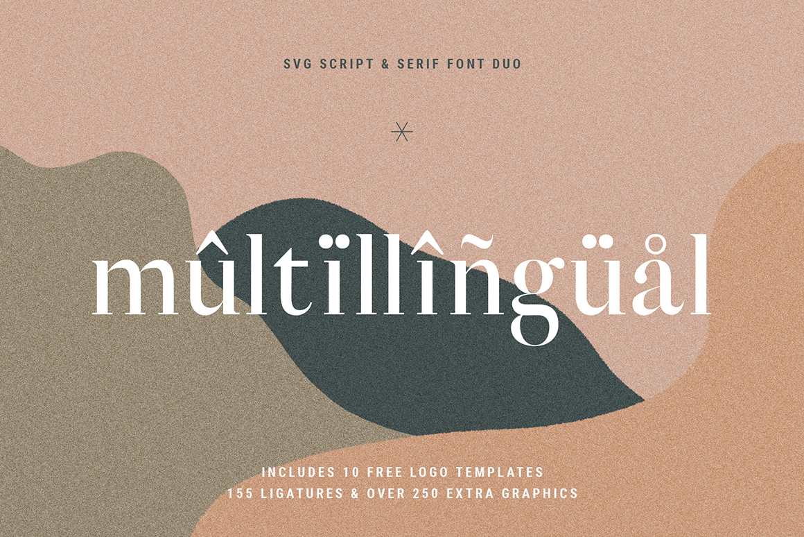 January Love .SVG Font Duo