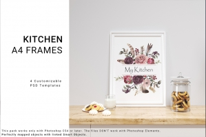 Kitchen A4 Frame Set