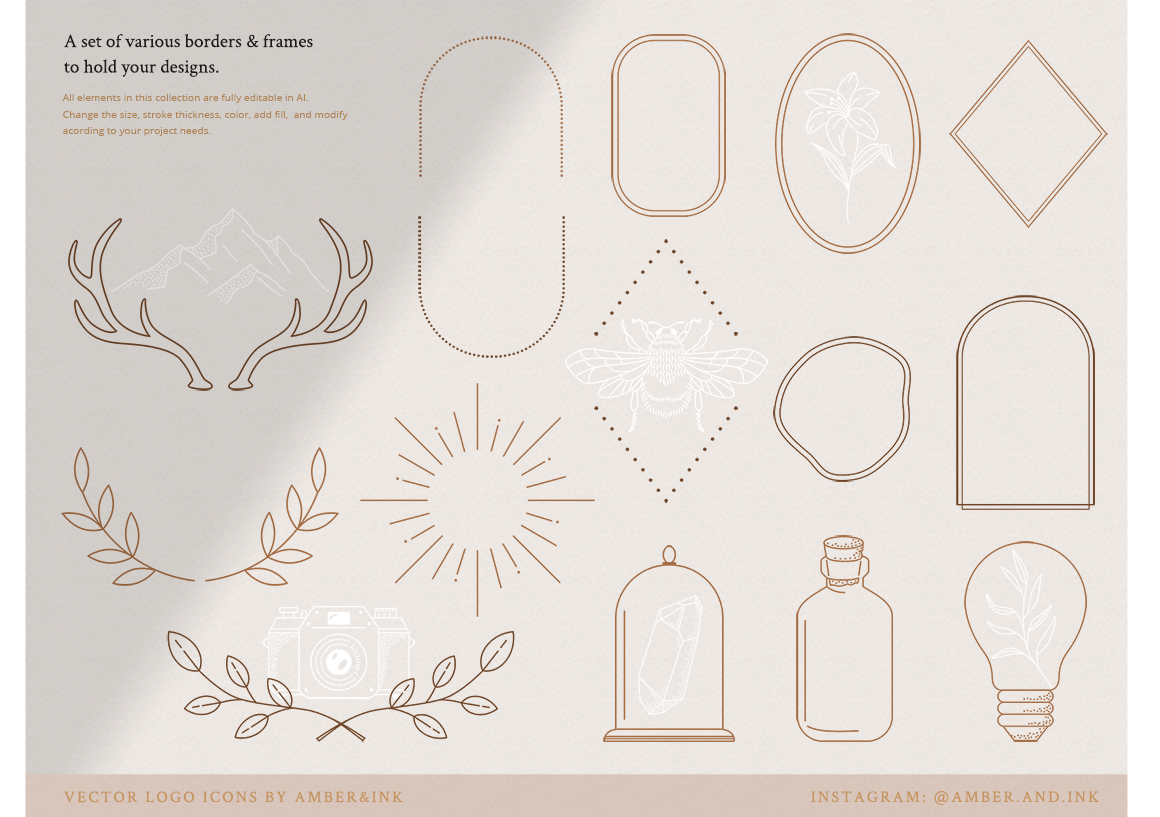 Logo Elements Collections No.1