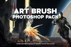 Art Brush Photoshop Pack