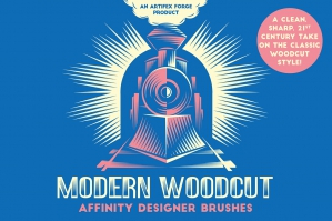 Modern Woodcut - Affinity Brushes