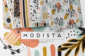 Modista Abstract Botanical Pattern Kit