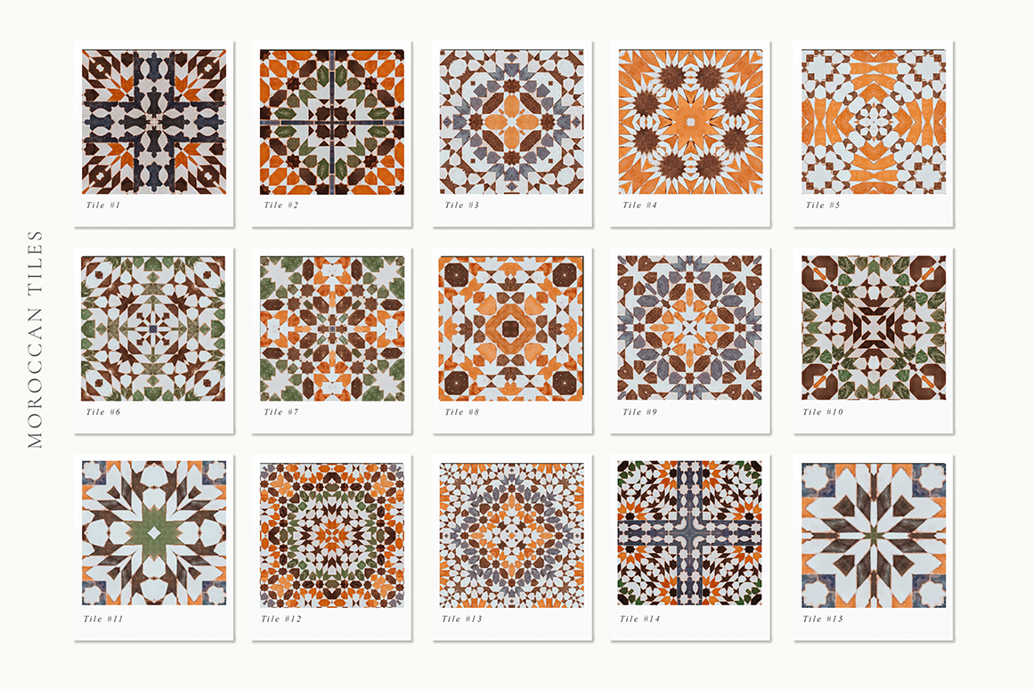 Moroccan Patterns And Tiles