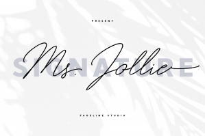 Ms. Jollie Signature