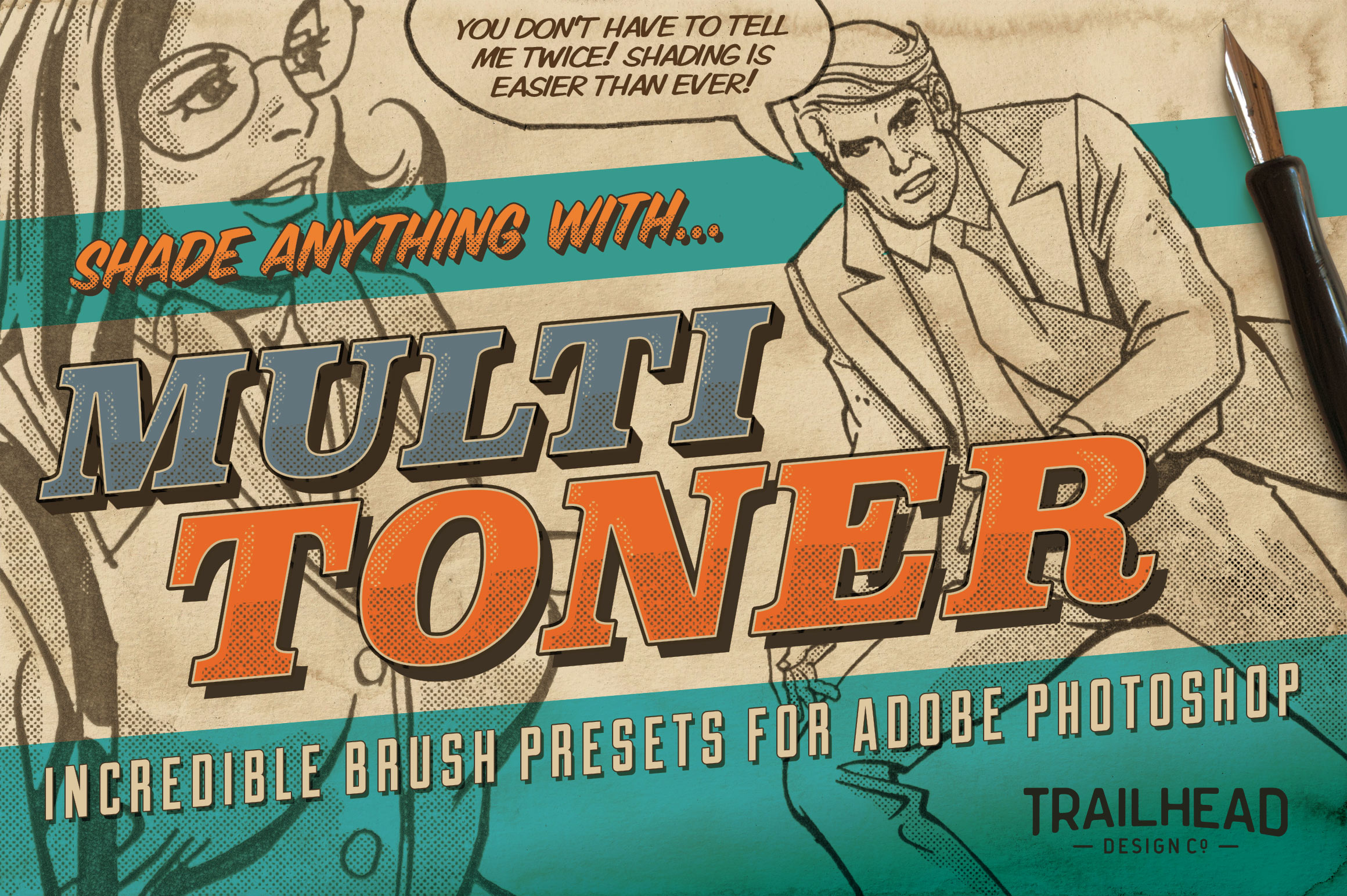 Multi Toner Brush Presets for Photoshop