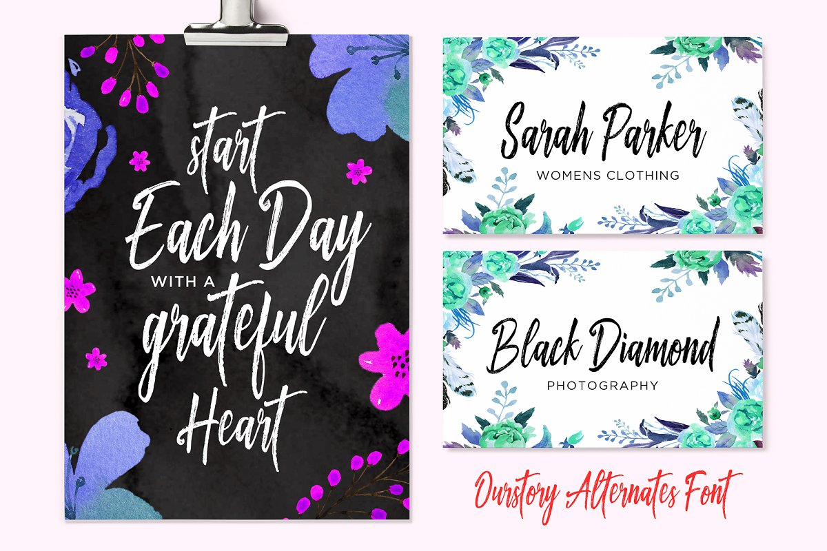 Ourstory Font Duo