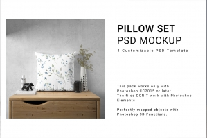 Pillow Mockup Set