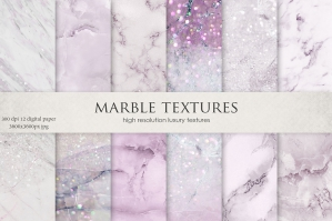 Pink Marble Textures