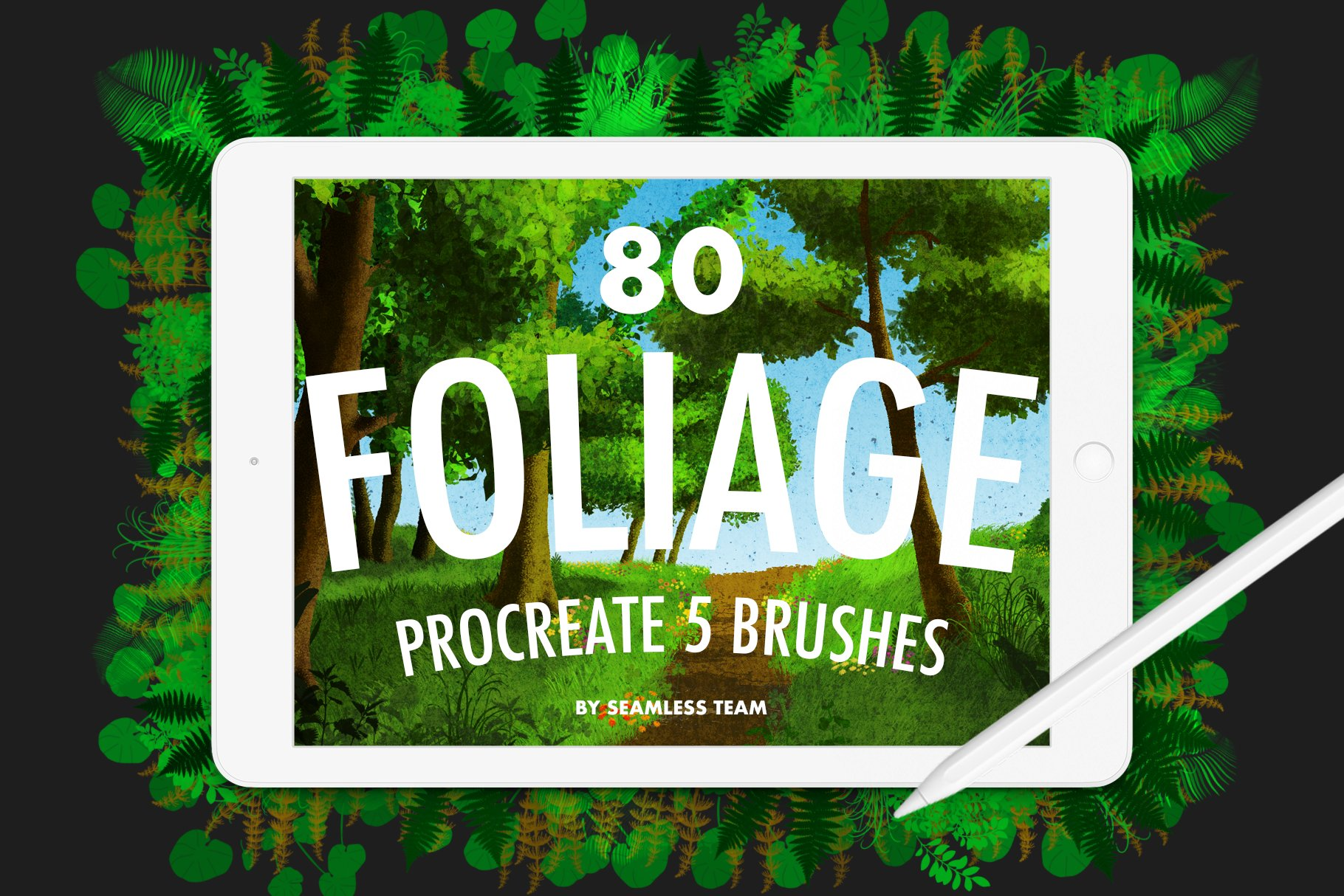 Procreate 5 - Foliage Brushes