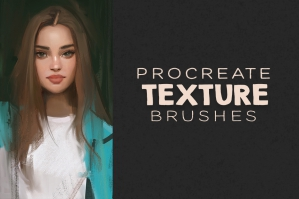 Procreate Texture Brushes