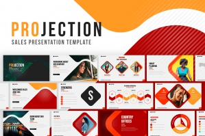 Projection Google Slides Template