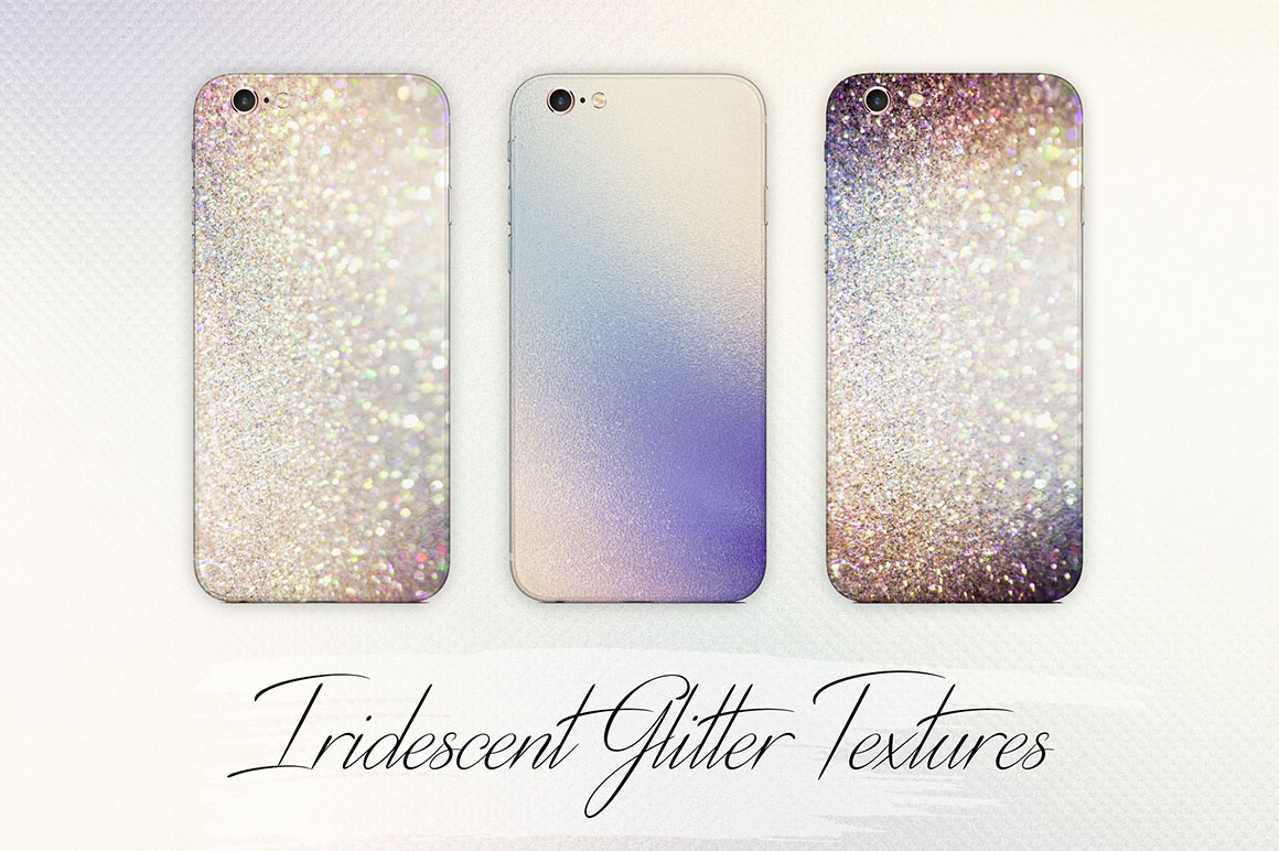 Rose Gold Glitter and Foil Textures