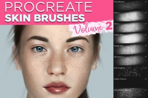 Skin Brushes for Procreate Vol.2